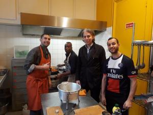 Boutault et cuisiniers