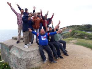 02 Groupe sur falaise